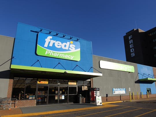 December 7, 2015 - Discount retailer Fred's now-closed location on Getwell.