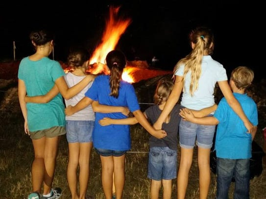 The City of Port St. Lucie's annual bonfire and hayride