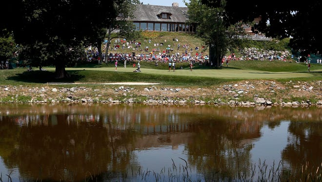 Blackwolf Run, which hosted the U. S. Women's Open Championship in 2012, is one of four Kohler Co.courses in Wisconsin courses.