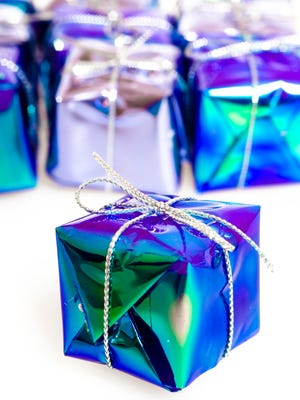 Rather than give things, give a gift of your time.