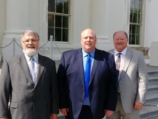 Pictured, from left: Manitowoc County Supervisor James