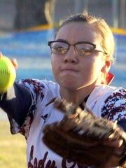Lady Cat Brisa Mireles found some home run pop to go