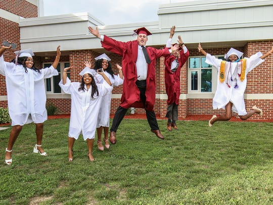 Seventy-four students graduated from Snow Hill High