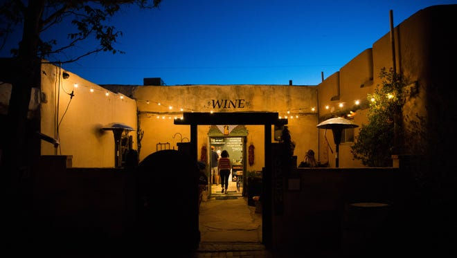 NM Vintage Wines, in Mesilla, one of the many places with regular live music performances.
