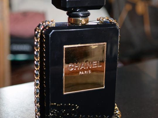 This rare Chanel perfume bottle purse sells for $7,500.