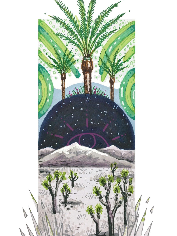 """""""But I still long for the desert,"""" writes Nina Harada,"""