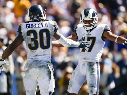 Robert Woods says Todd Gurley will break LT's single-season TD record