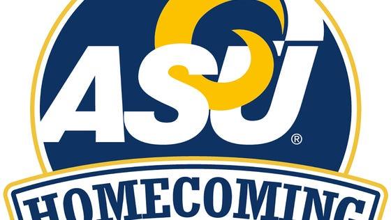 Angelo State University Homecoming parade logo