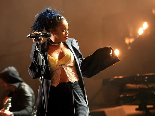 """R&B singer Rihanna, whose last album was 2012's """"Unapologetic,"""" will play The Palace on March 24."""