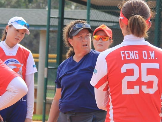 Bejing head coach Teresa Wilson with her term.