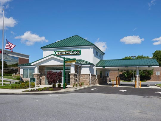 Orrstown Bank branch on Manheim Pike in Lancaster.
