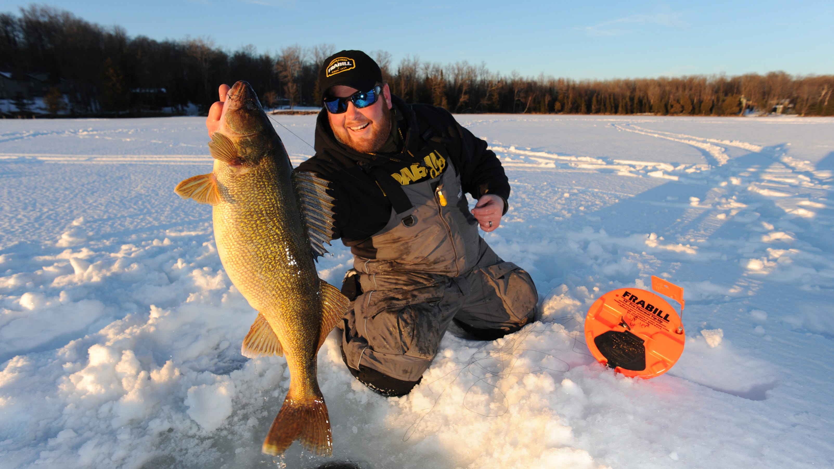 Big minnesota lakes getting ready for ice fishing for Red lake ice fishing