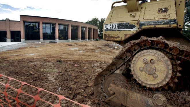 Construction is set to continue at Hobgood Elementary School until fall 2016.