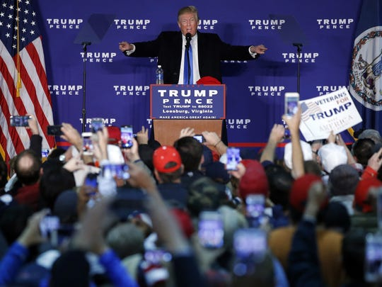 Donald Trump, who won the presidential election Tuesday,