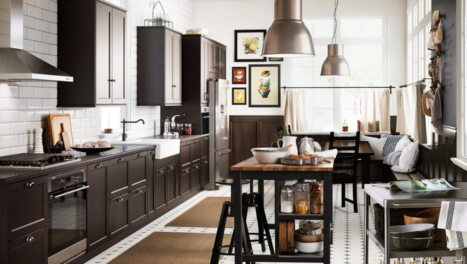 Ikea's new Sektion kitchen cabinets replace the Akurum system they sold for two decades.