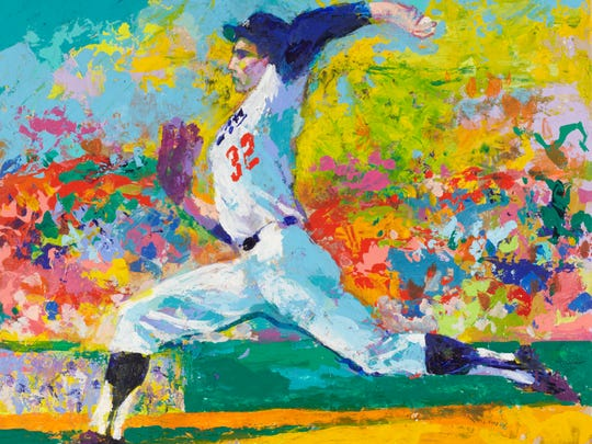 In addition to athletic subjects, LeRoy Neiman also painted U.S. presidents, jazz musicians and animals and authored 15 books.