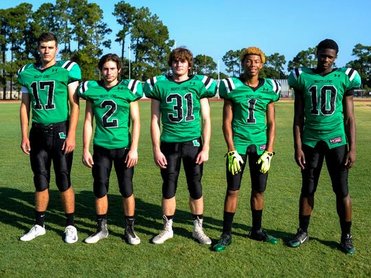 Lafayette High offensive standouts Dwight Youngblood