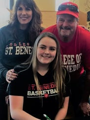 West Salem senior Brenna Redman has signed to play