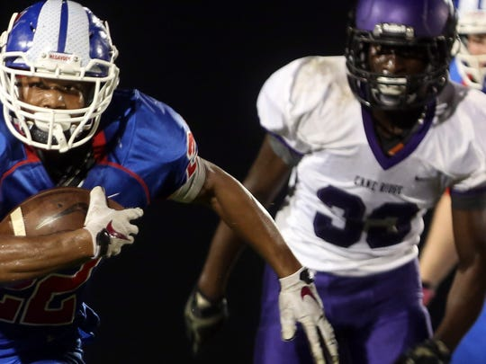 Cane Ridge's Dewayne Johnson (33)