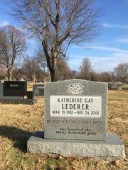Katherine Lederer, an MSU English professor who died