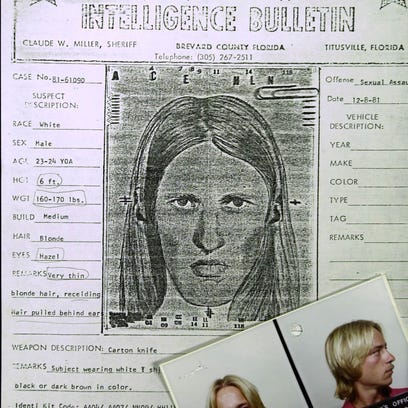 FILE: This is a photo of a police sketch made from