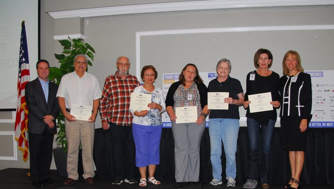 Some of United Way of Escamia County's most active volunteers were honored at the organization's first Volunteer Appreciation Breakfast.