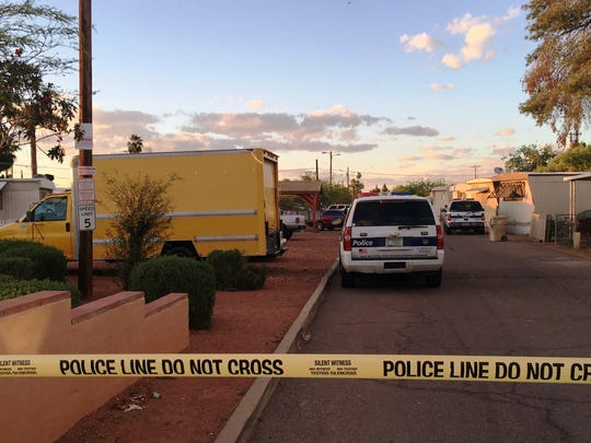 Phoenix police were involved in an officer-involved