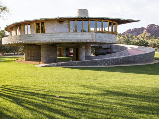The future of a Phoenix home designed by Frank Lloyd
