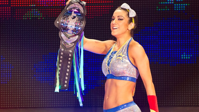 WWE NXT star Bayley is looking forward to her first visit to Green Bay for an event Friday at Shopko Hall in Ashwaubenon.