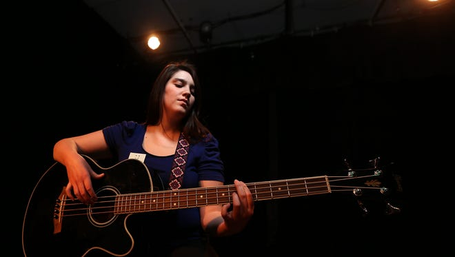 Kaylee Williams is a musician and a startup owner. (Bryon Houlgrave/The Register)