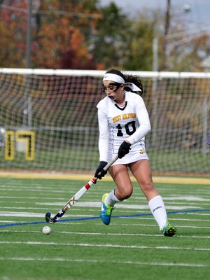 Danielle Dellapi added the insurance goal for West Milford in its win over Northern Highlands on Saturday, Sept. 23, 2017.