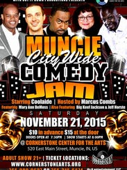 Muncie City Wide Comedy Jam will take place Nov. 21