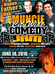 Tickets are on sale for Muncie City Wide Comedy Jam,