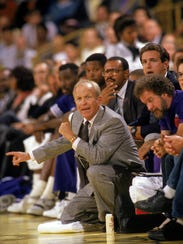 Cotton Fitzsimmons coached 22 years in the NBA, including