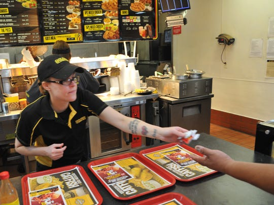 Golden Chick 5th street location assistant manager,