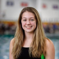 Floyd Central's Lauren Thompson swims to sectional records and Athlete of the Week Award