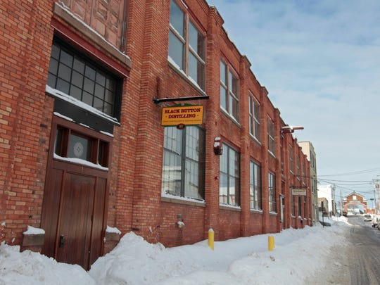 Black Button Distilling is located at 85 Railroad St.