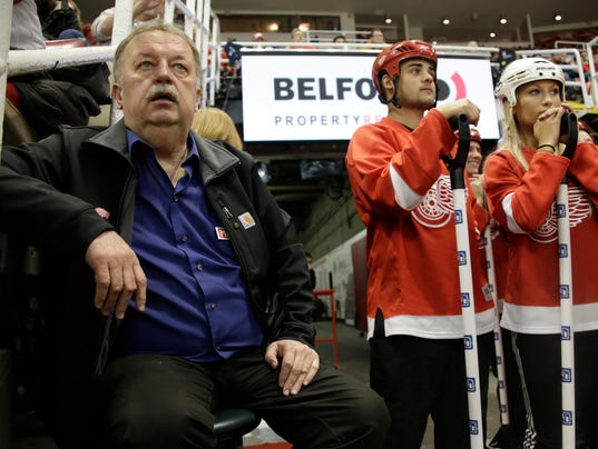 Red Wings Zamboni Legend Al Sobotka Ready For His New