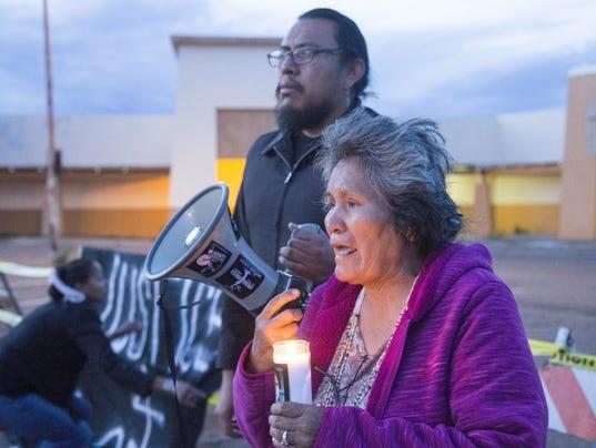 Loreal Tsingine vigil