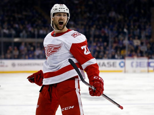 NHL: Detroit Red Wings at New York Rangers