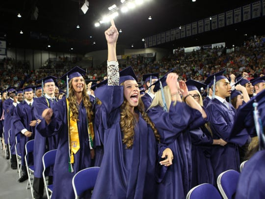 Rutherford County Schools' graduation rate exceeded 95 percent for the Class of 2016, according to data released by the state Department of Education.