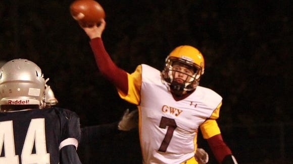 Cherokee quarterback Tye Mintz is a rising sophomore for the Braves.