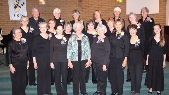 The Hi Lo Silvers will give two performances of their holiday concert at 7 p.m. on Friday and 3 p.m. on Sunday at the First Presbyterian Church of Silver City.