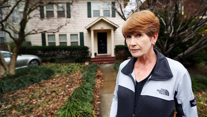 Stephanie Finlayson and her family have lived at their Midtown home for 30 years, unaware that they had a lead service line until they received notice from MLGW shortly before the utility company started tearing up the street.