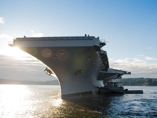 Stennis Gets Underway