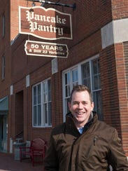 Crosby Keltner is the new owner of the Pancake Pantry