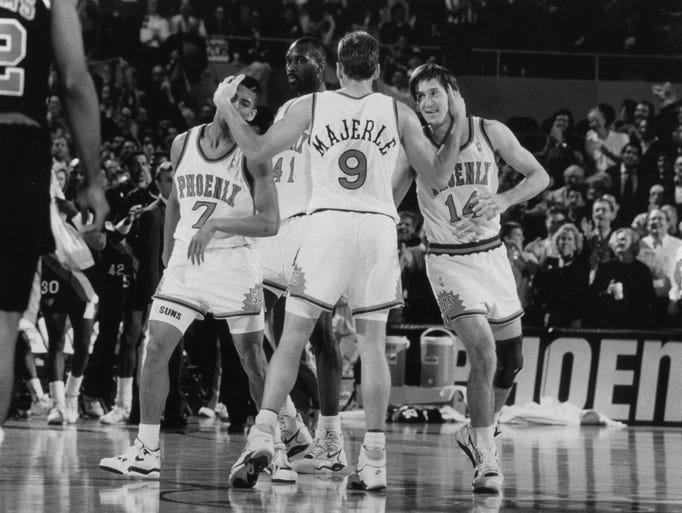 The Suns have a history of wheeling and dealing. Here