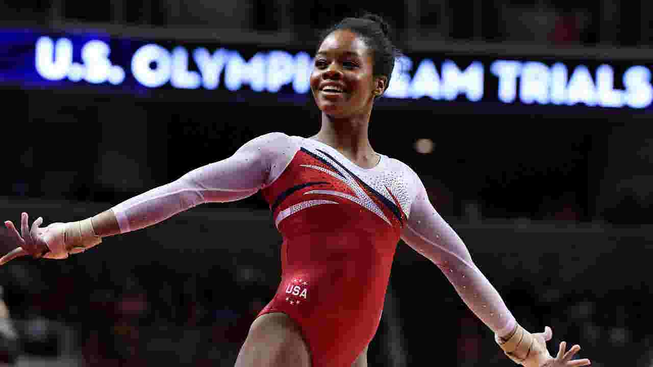 Armour olympic gymnast gabby douglas is done with the haters m4hsunfo