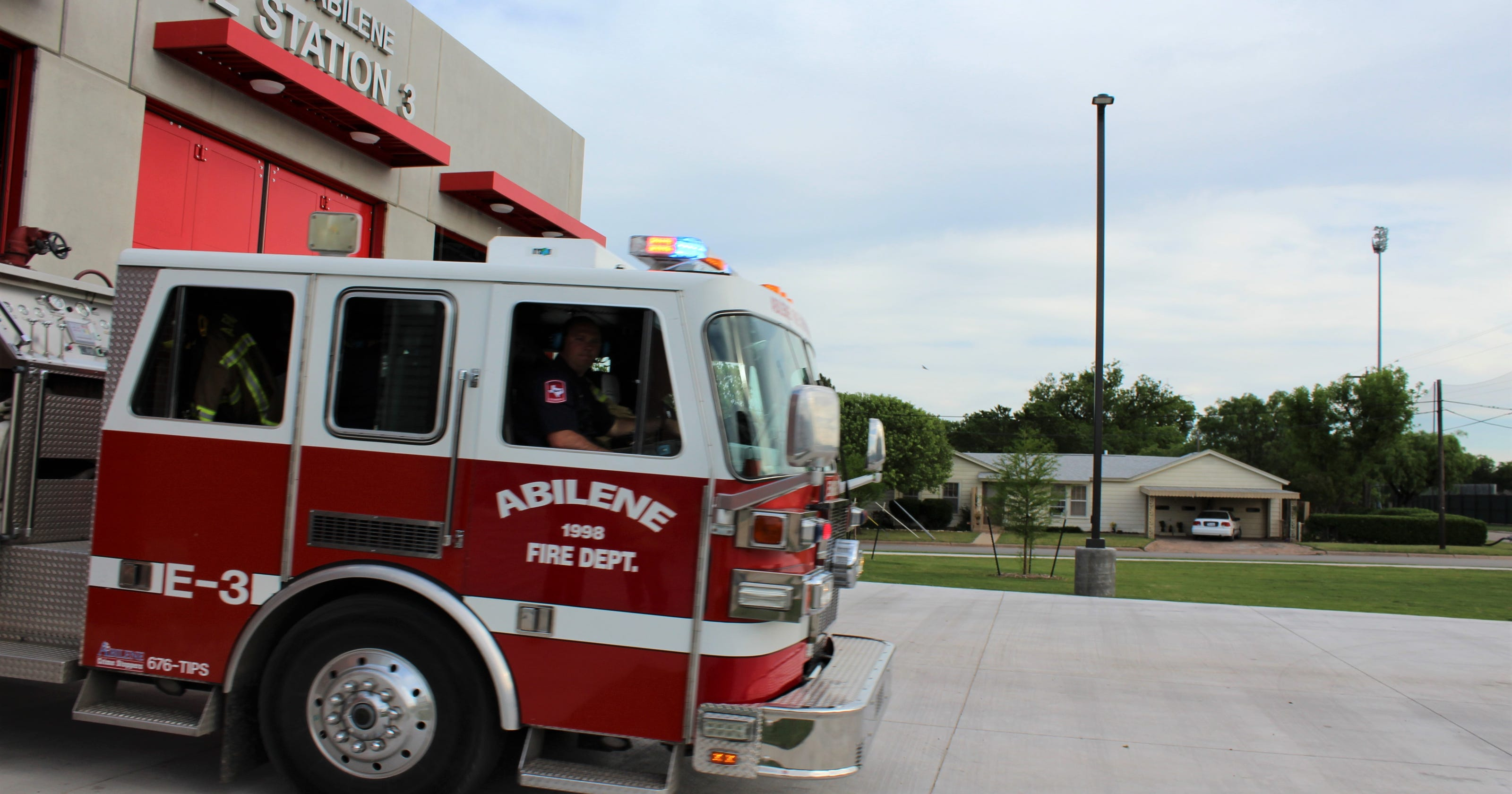 For Abilene Fire Department, it's two jobs in one