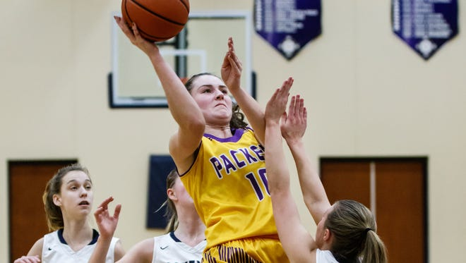 Cudahy senior Hannah Kulas was named the Woodland Conference East Division player of the year.